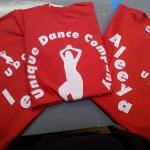 dance school printing